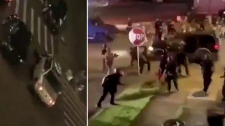 New York Police Hit And Runs