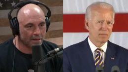 Joe Rogan, Biden