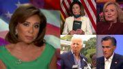 Judge Jeanine, Pelosi, Hillary, Biden, Romney