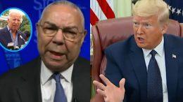 Colin Powell, Trump, Biden