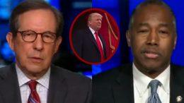 Wallace, Ben Carson, Trump