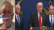 Marine, Pence, Trump, Mattis