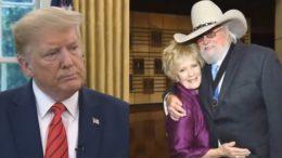 Trump, Charlie Daniels wife