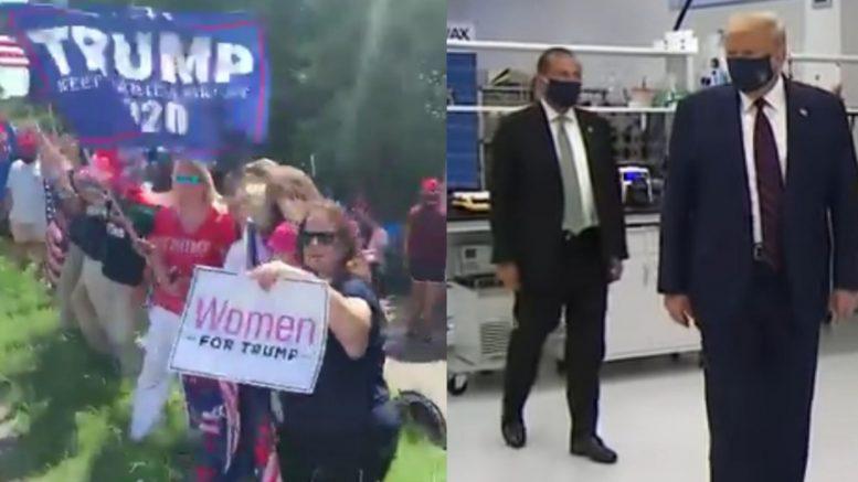 Trump Supporters, Trump