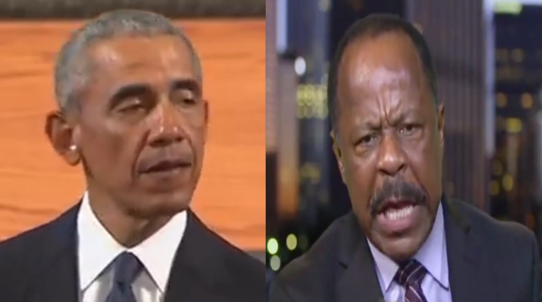 "Leo Terrell Blasts Obama For ""Using A House Of Worship, Using A Funeral, To Raise A Democratic Campaign Speech"""