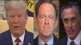 Trump, Toomey, Romney