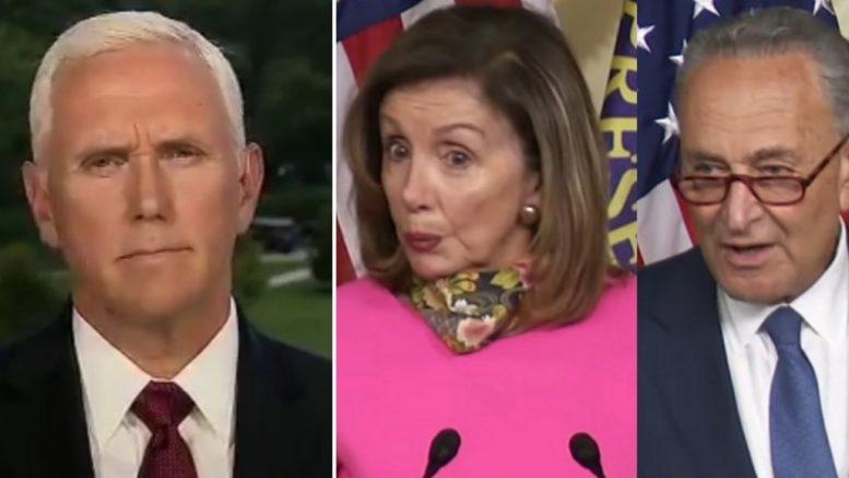 Pence, Pelosi, Schumer
