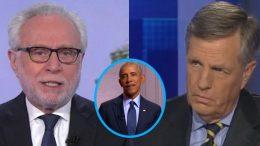 Wolf Blitzer, Brit Hume, Obama