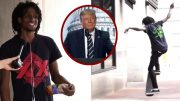 Skateboarder, Trump