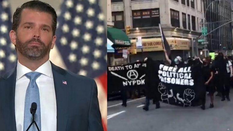 Don Jr., Antifa NYC