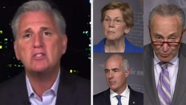 McCarthy, Warren, Schumer, Casey
