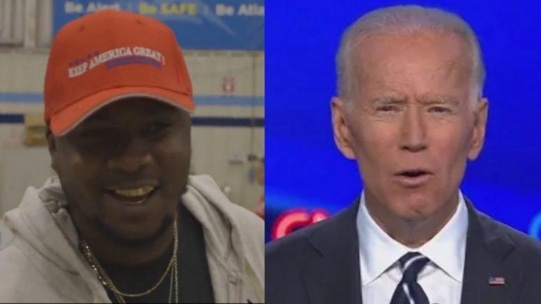 Black Trump Supporter, Biden