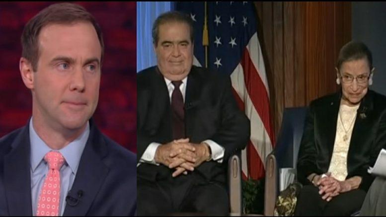 Christopher Scalia, Scalia, Ginsburg,
