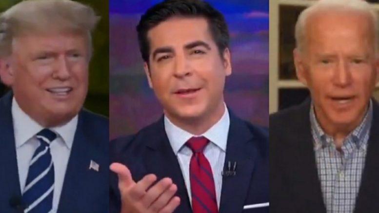 Trump, Watters, Biden