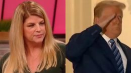 Kirstie Alley, Trump