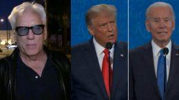 Woods, Trump, Biden, Debate