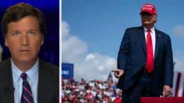 Tucker, Trump