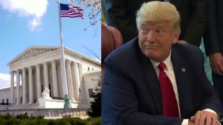Supreme Court, Trump