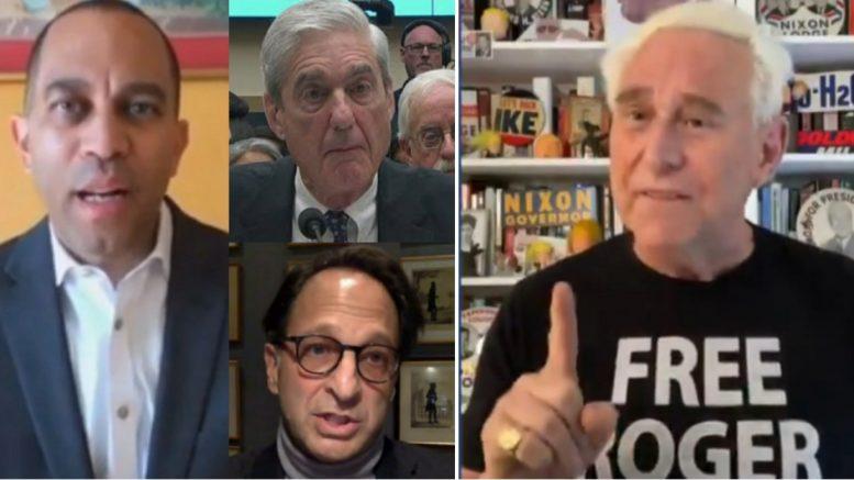 Hakeem Jeffries, Mueller, Weissmann, Roger Stone