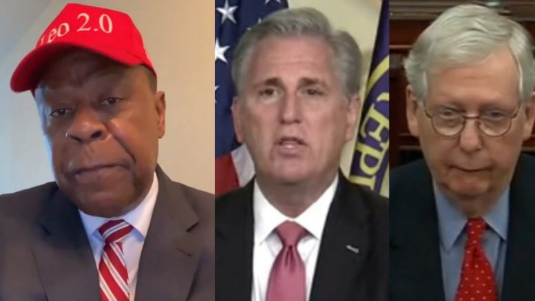 Leo Terrell, McCarthy, McConnell