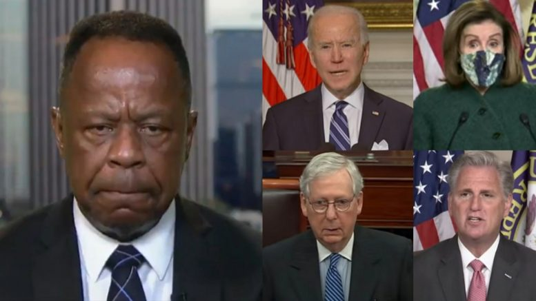 Leo Terrell, Biden, Pelosi, McConnell McCarthy