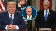 Trump, Biden, Pence