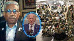 Allen West, Biden, Military