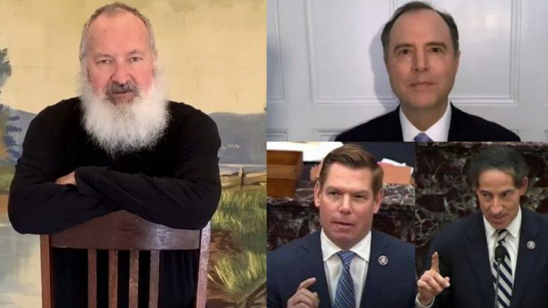 Randy Quaid, Schiff, Swalwell, Raskin