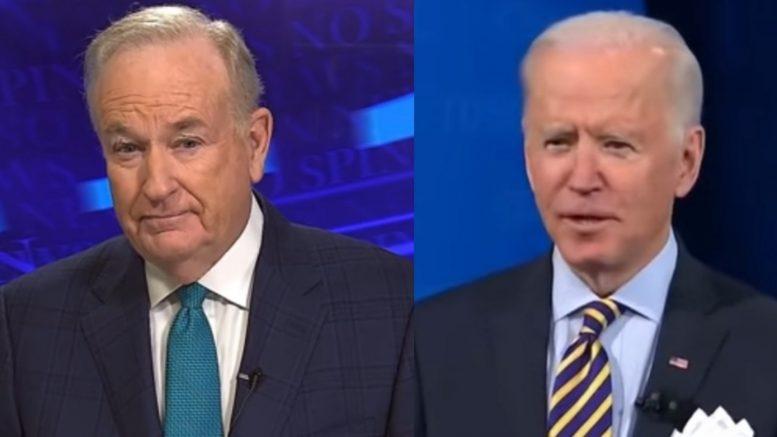 O'Reilly, Biden