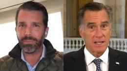 Don Jr., Romney