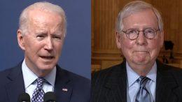 Biden, McConnell