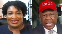 Stacey Abrams, Leo Terrell