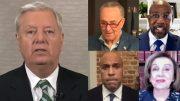 Graham, Schumer, Warnock, Booker, Pelosi