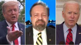 Trump, Gorka, Biden