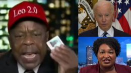 Leo Terrell, Joe Biden, Stacey Abrams