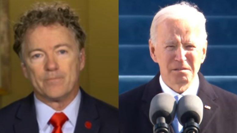 Rand Paul, Biden