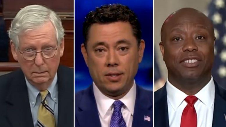 McConnell, Chaffetz, Scott