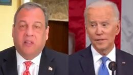 Chris Christie, Joe Biden