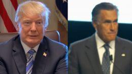 Trump, Romney