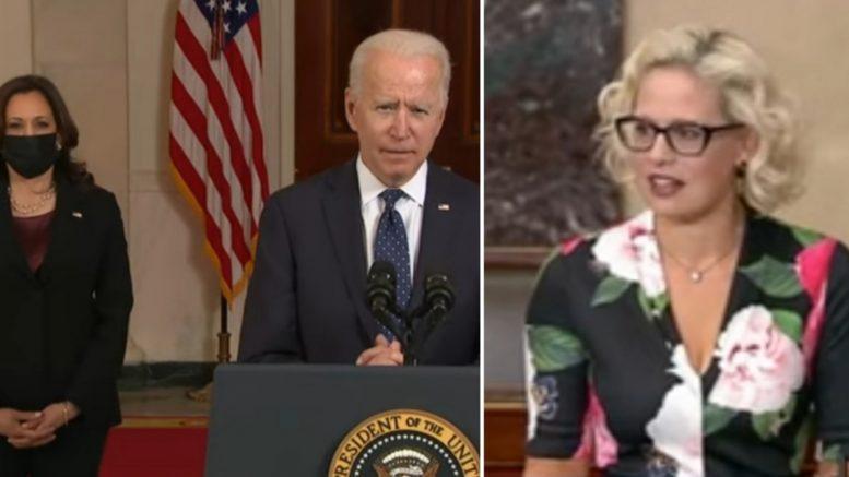 Harris, Biden, Sinema