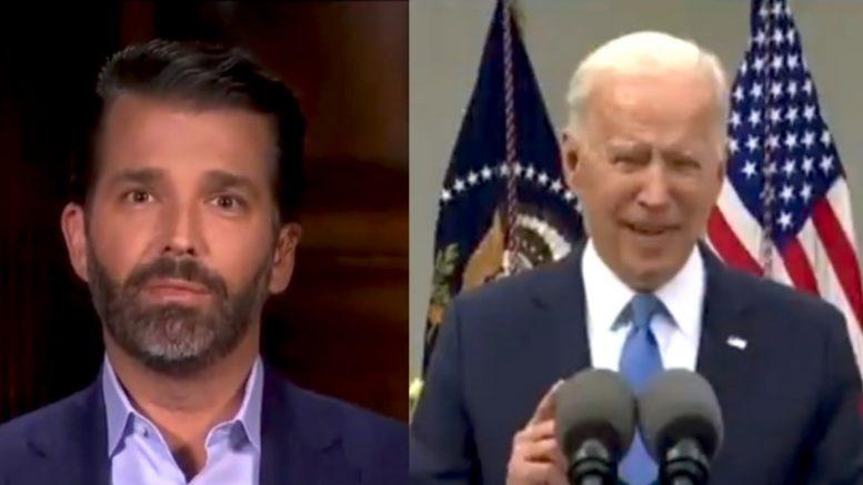 Don Jr., Biden