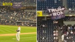 Trump Won, Yankees Stadium