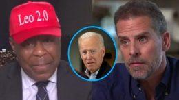 Leo Terrell, Joe Biden, Hunter Biden