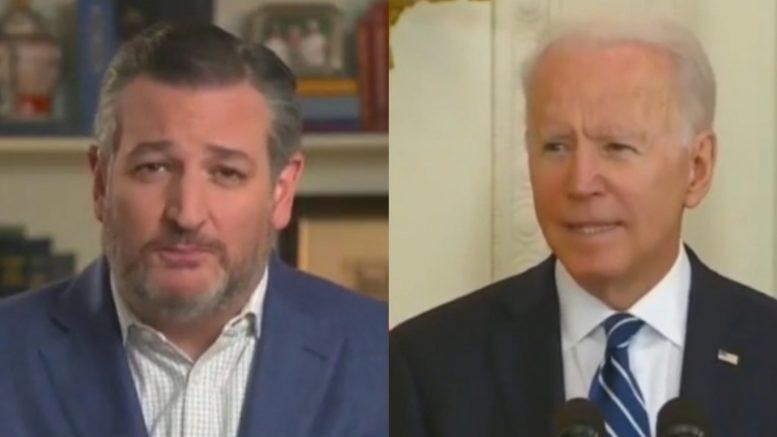 Cruz, Biden