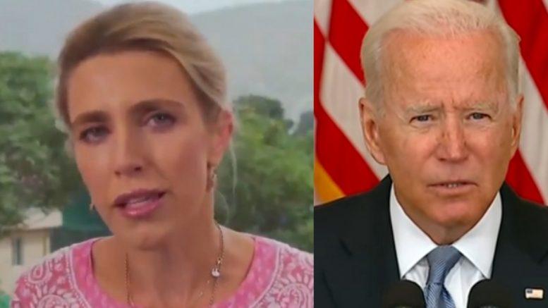 Clarissa Ward, Biden