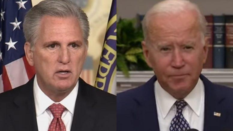 McCarthy, Biden