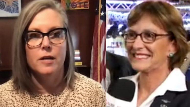 Katie Hobbs, Wendy Rogers