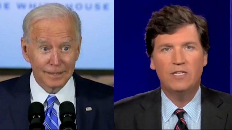 Biden, Tucker