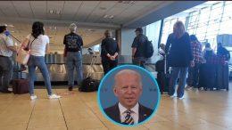 Biden, San Diego Airport