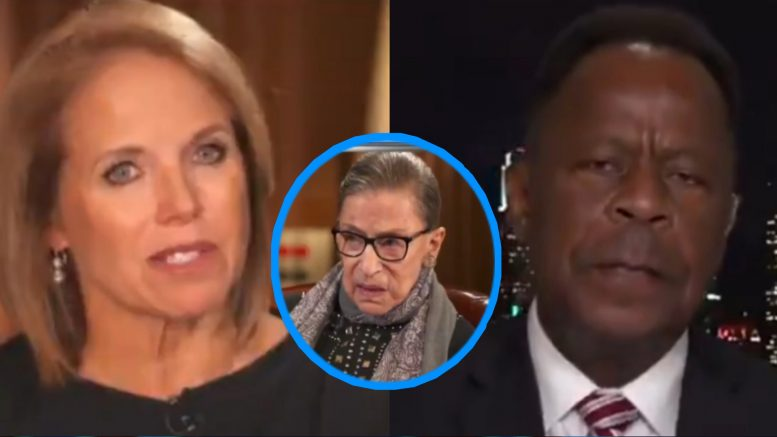 Katie Couric, Ginsburg, Leo Terrell
